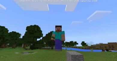 Reduce Player Gravity Addon – Minecraft 1.2 (MCPE)