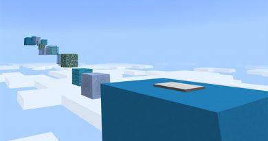 Rainbow Parkour Haritası – Minecraft