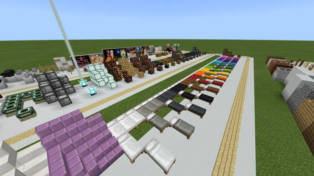 Minecraft Test Map MCPE