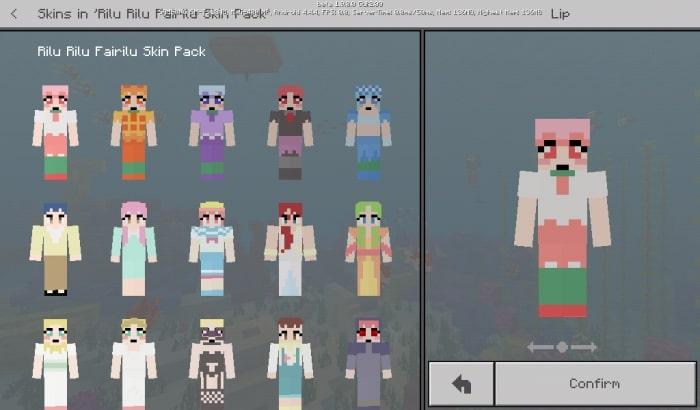 Rilu Rilu Fairilu Skin Pack
