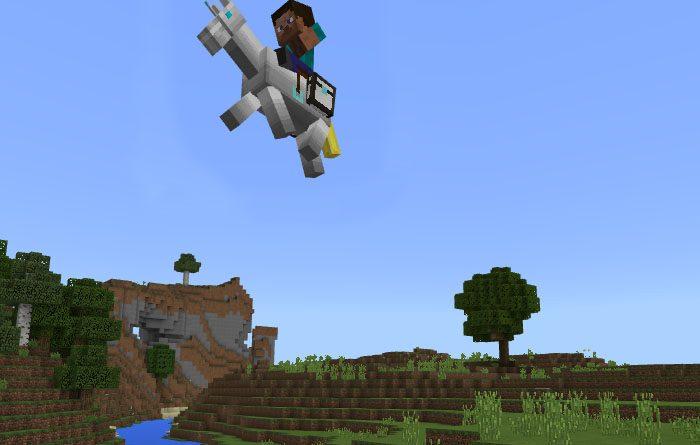 Robot Horse Addon – Minecraft 1.2