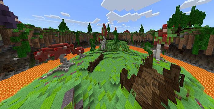 Slime Savaşları PVP Haritası – Minecraft 1.5