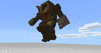 Steampunk Robot Addon – Minecraft 1.2