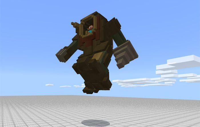 Minecraft Steampunk Robot Addon