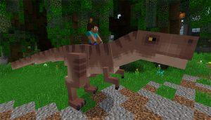T-Rex eklentisi mcpe