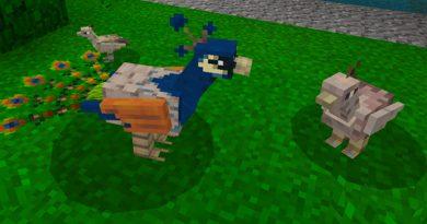 Tavus Kuşu Eklentisi – Minecraft 1.8