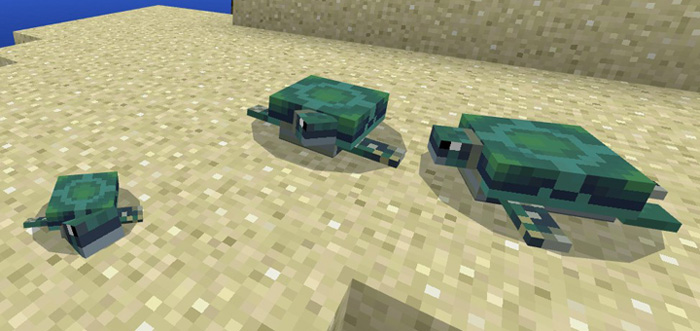 The Turtles Addon - Minecraft 1.2