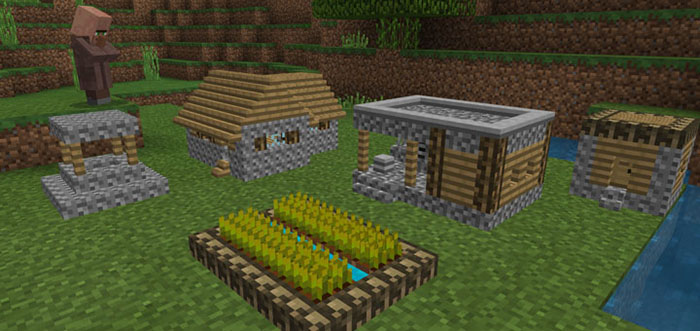 tiny village texture pack