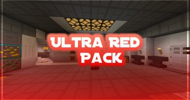 Ultra Red Pvp Texture Pack – MCPE 1.1.X