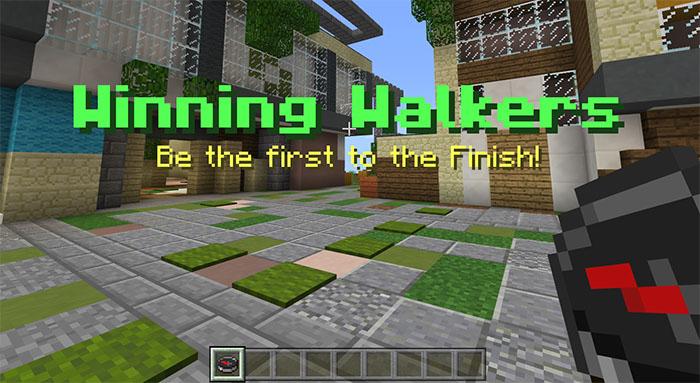 Winning Walkers 2 Parkur Haritası